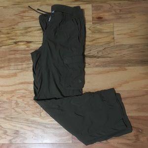 North Face Men's Cargo Hiking Pants — 100% Nylon
